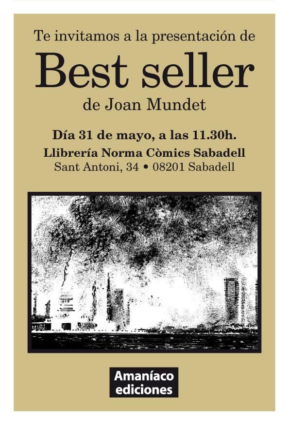 Presentación del cómics Best Seller en Sabadell