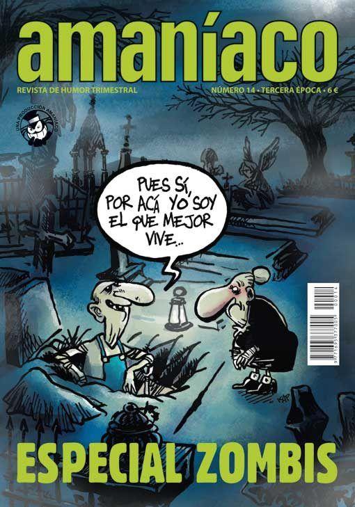 Amaníaco 14 Especial zombis