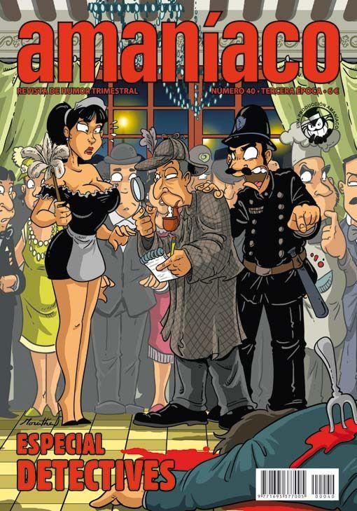 Amaníaco 40 Especial detectives