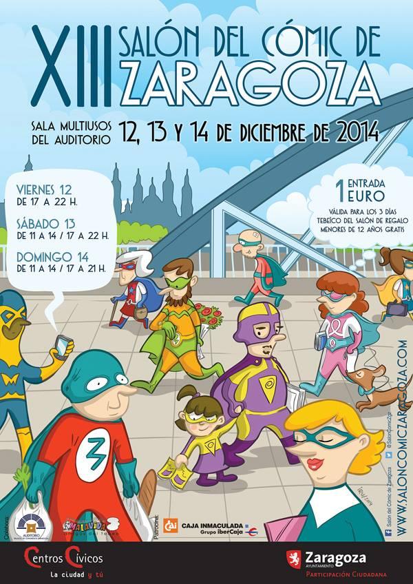 XIII Salón del cómic de Zaragoza