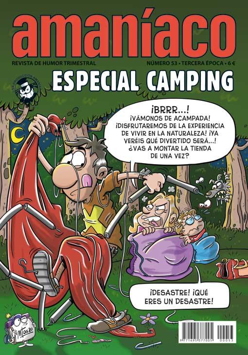 Amaníaco 53. Especial camping