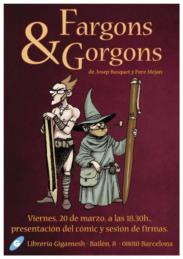 Presentación de Fargons & Gorgons en la librería Gigamesh