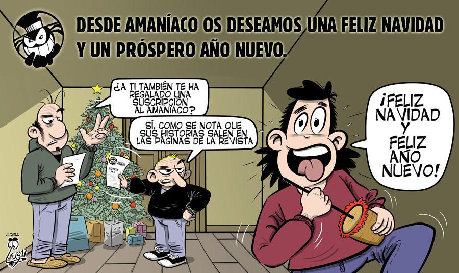 Felicitación de navidad de 2018 por Manel Cruz