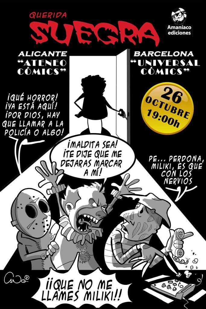 Presentación del cómic Querida suegra