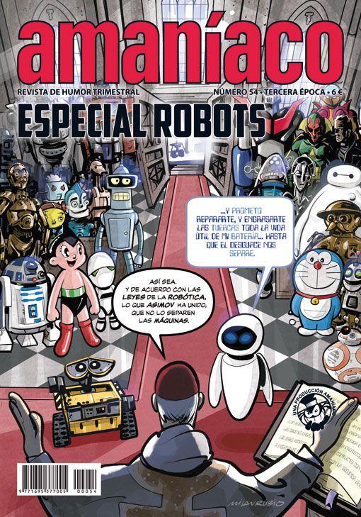 Amaníaco 54 Especial robots