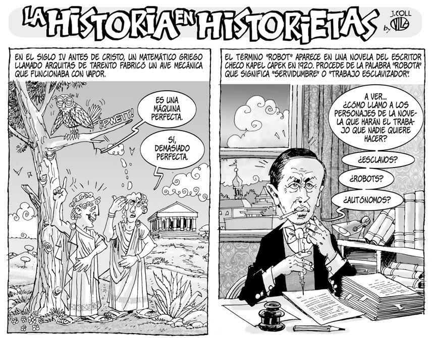 La historia en historietas